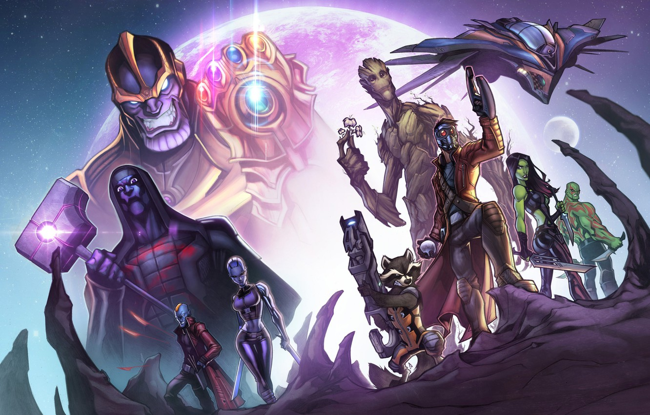 Wallpaper Fiction Characters Comic Guardians Of The Galaxy