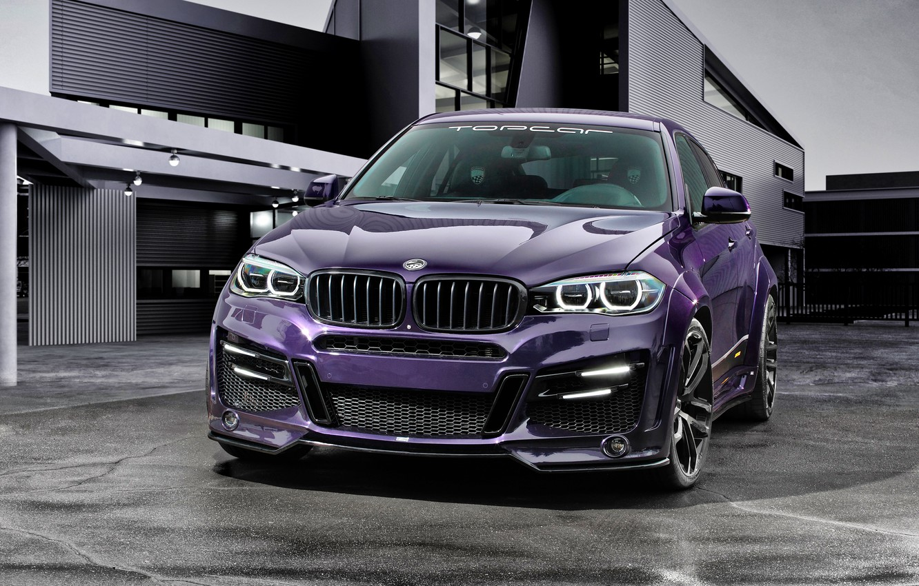 Photo wallpaper BMW, BMW, SUV, crossover, F16, Lumma Design, X6R