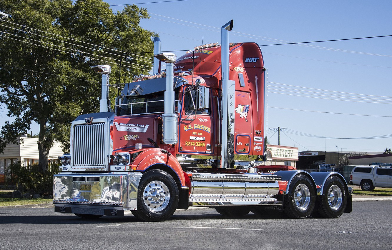 Photo wallpaper Western star, 200th, k.s. easter