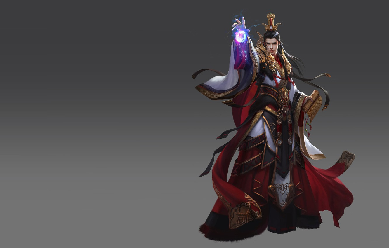 Photo wallpaper the game, fantasy, art, MAG, level, skill, Skil, LVL, costume design, Qin Empire rise of …