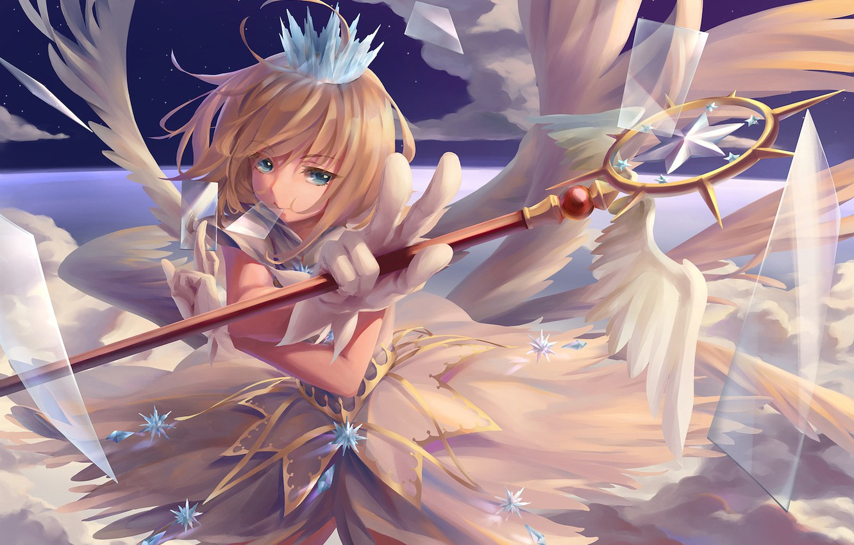 Photo wallpaper card, anime, girl, Card Captor Sakura