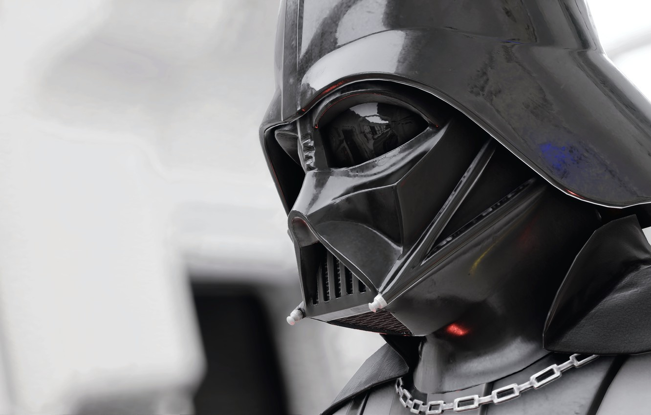 Photo wallpaper Star Wars, helmet, Darth Vader, Star Wars Battlefront II