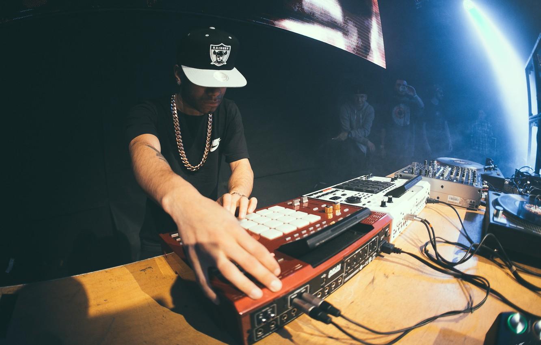 Photo wallpaper Concert, Trap, Beatmaker