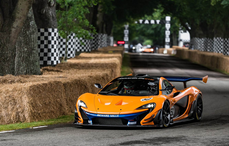 Photo wallpaper hypercar, racing, McLaren P1, McLaren P1 GTR