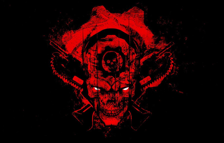 Wallpaper Beauty Red Emblem Gears Of War Red Soul Blood