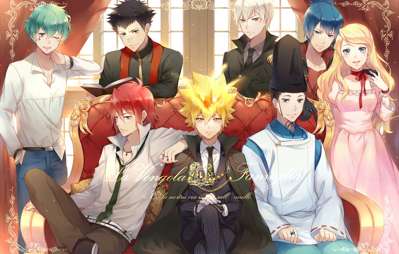 Wallpaper Anime Guys Mafia Katekyo Hitman Reborn The Clams Images For Desktop Section Syonen Download
