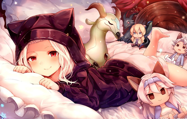 Photo wallpaper fantasy, game, anime, asian, manga, asiatic, sugoi, Granblue Fantasy, japonese, 031