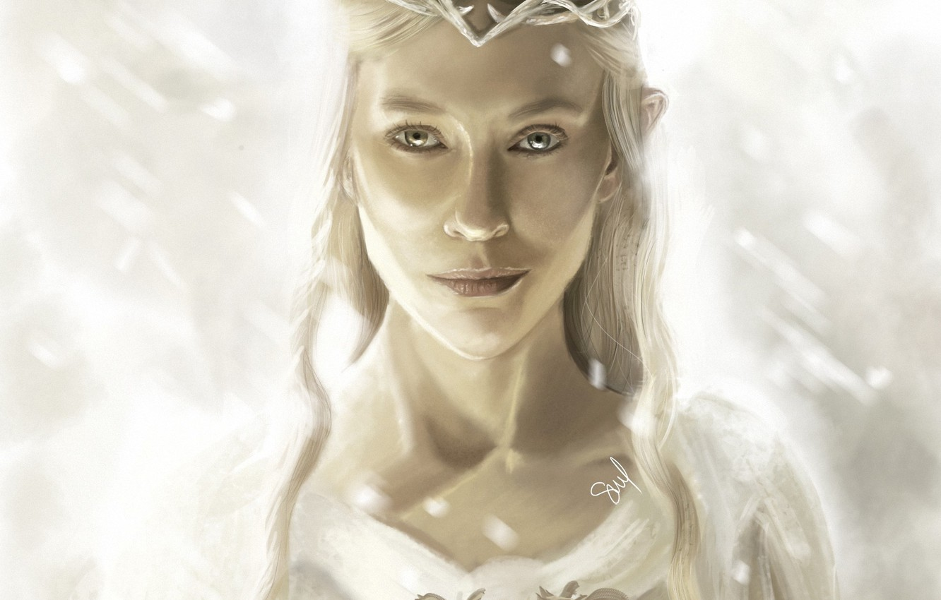 Photo wallpaper girl, the Lord of the rings, art, elf, Diadema, the lord of the rings, Of …