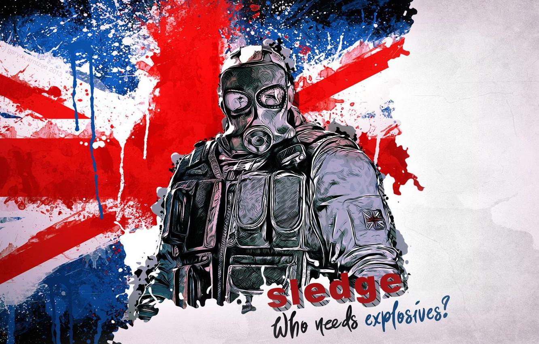 Photo wallpaper Ubisoft, Rainbow Six, Tom clancy's rainbow six siege