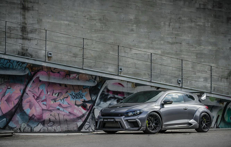 Photo wallpaper Volkswagen, Scirocco, PPV430R, Aspec