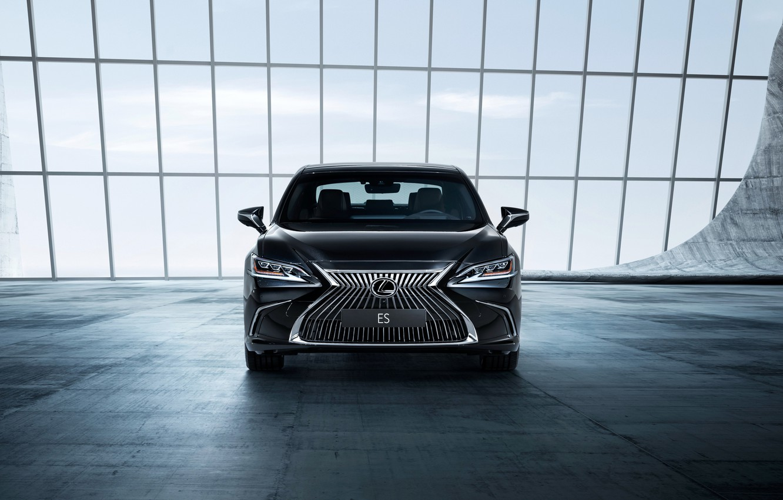 Photo wallpaper Lexus, sedan, front view, 2018, ES 250