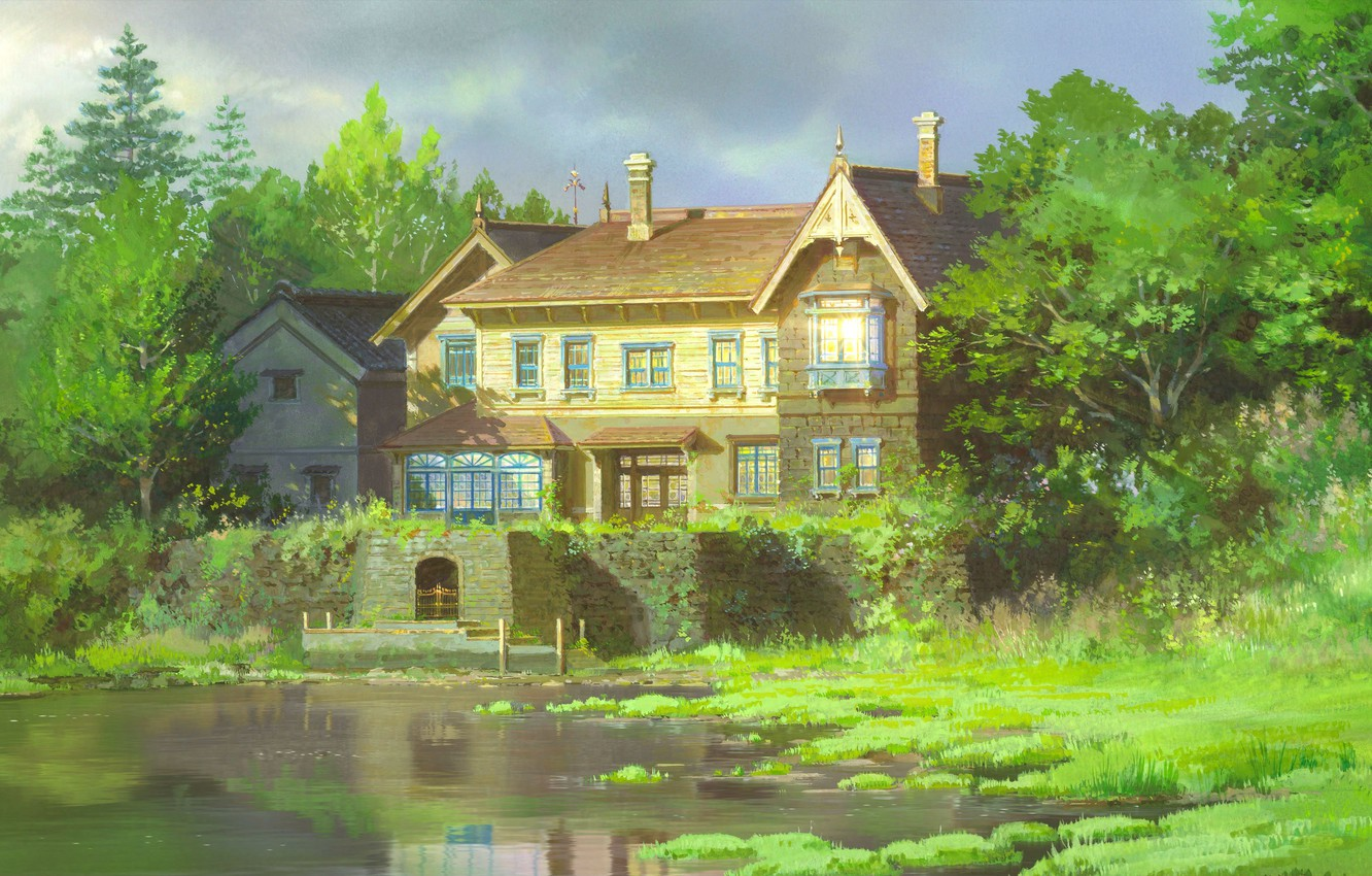 Photo wallpaper Anime, Adventure, When Marnie Was There