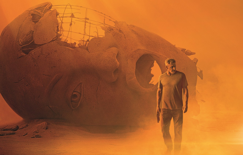 Photo wallpaper Harrison Ford, Movie, Blade Runner 2049