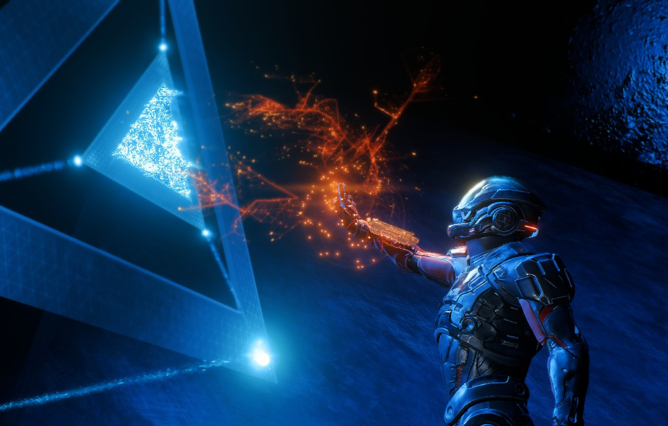Photo wallpaper Space, Space, Mass Effect, Mass Effect Andromeda