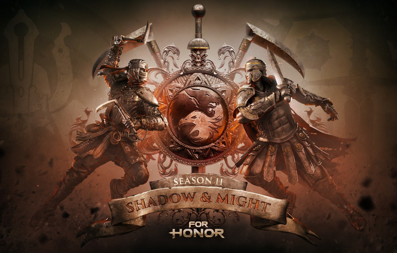Photo wallpaper Game, Ubisoft Montreal, For Honor, For the honor, Season Two: Shadow & Might, TheVideoGameGallery.com