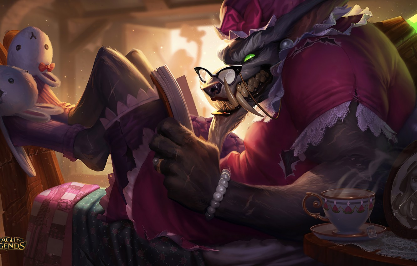 Wallpaper Lol League Of Legends Warwick Warwick Images For