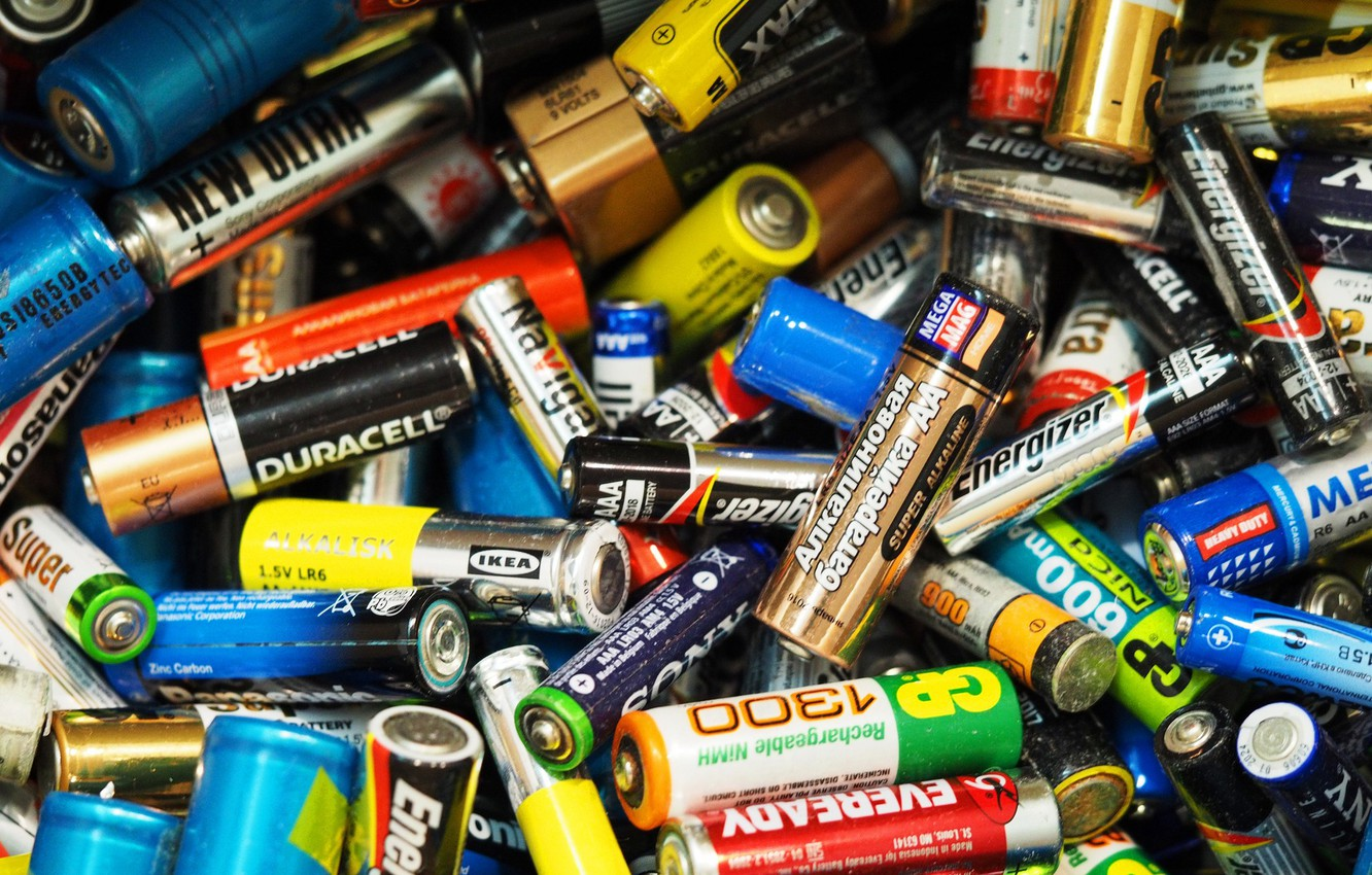 Wallpaper Brands Waste Batteries Lithium Images For