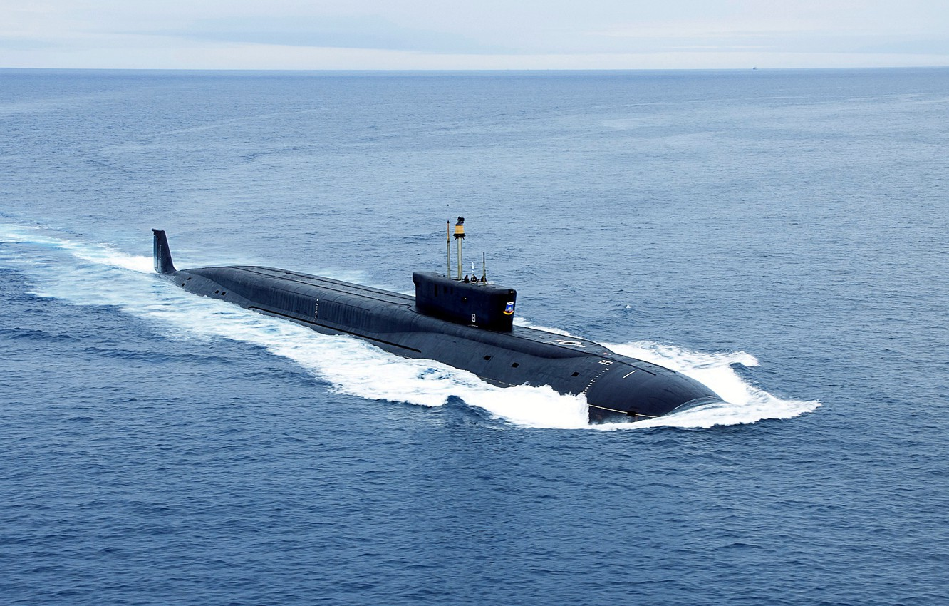 Photo wallpaper Navy, nuclear submarine, the project 955, Dmitry Donskoy, Boreas