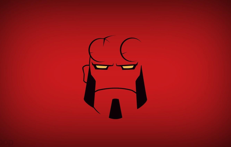 Photo wallpaper Hero, Comic, Hellboy