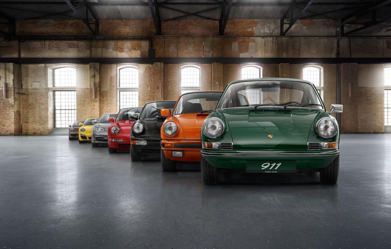 Wallpaper Colorful Porsche Vintage Cars Porsche 911 Evolution