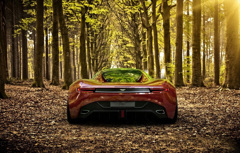 Photo wallpaper Aston Martin, Supercar, DBC