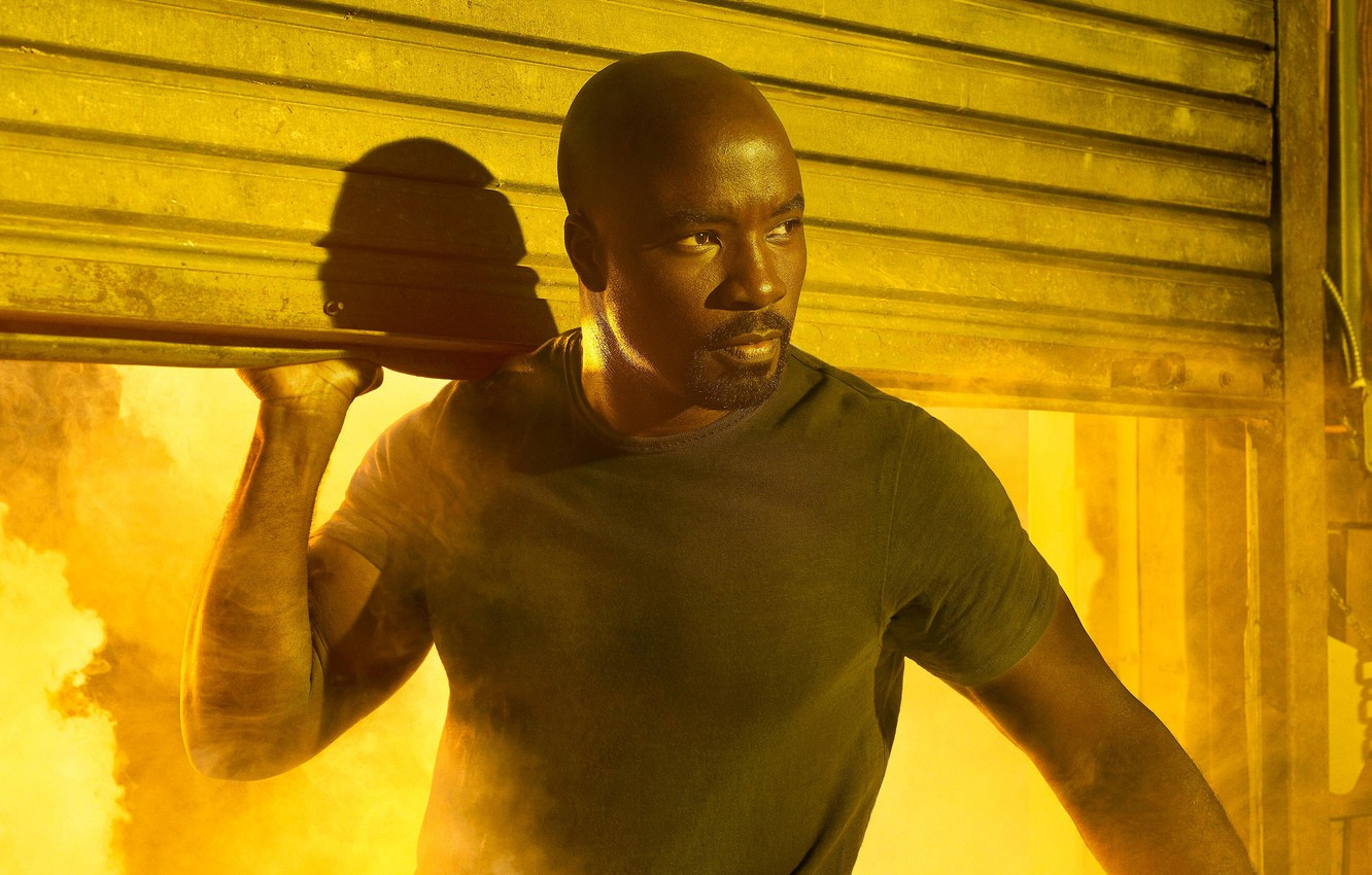 Photo wallpaper Marvel, Netflix, Luke Cage, Luke Cage, The Defenders, Mike Colter, Mike Colter