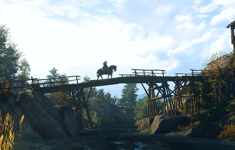 Photo wallpaper bridge, The Witcher, The Witcher 3: Wild Hunt, The Witcher 3 Wild Hunt