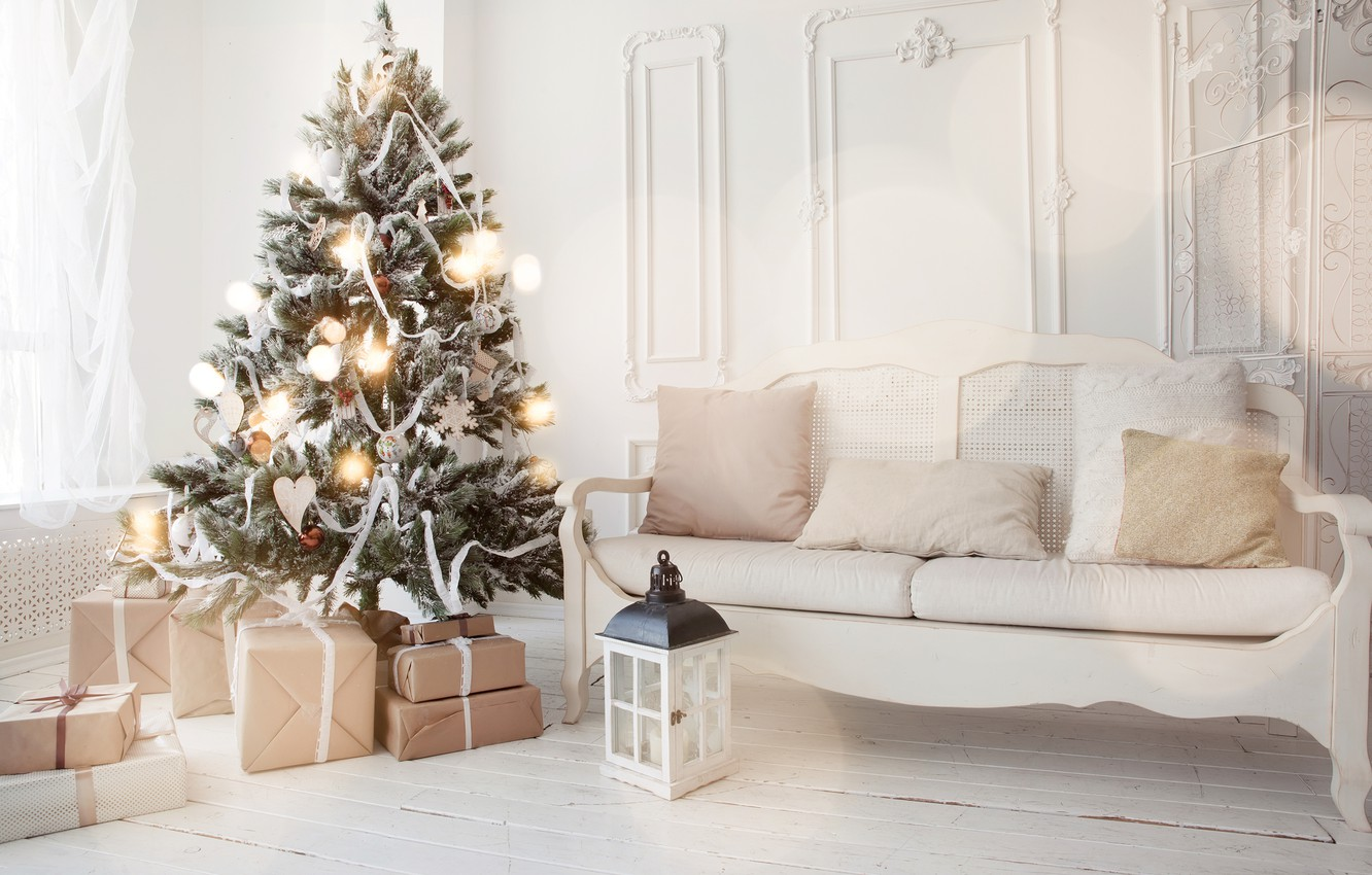 Wallpaper Decoration Toys Tree New Year Christmas Gifts White Christmas Design Merry Christmas Xmas Interior Home Decoration Christmas Tree Gifts Images For Desktop Section Novyj God Download