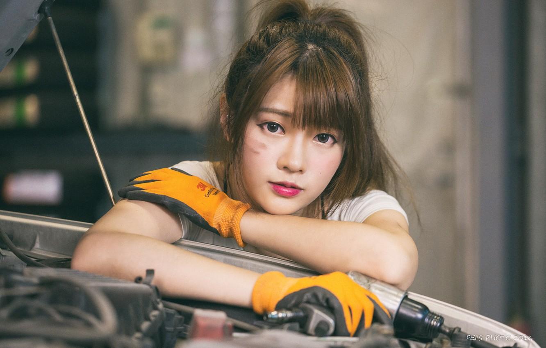 Wallpaper girl cute asian Cute Beautiful