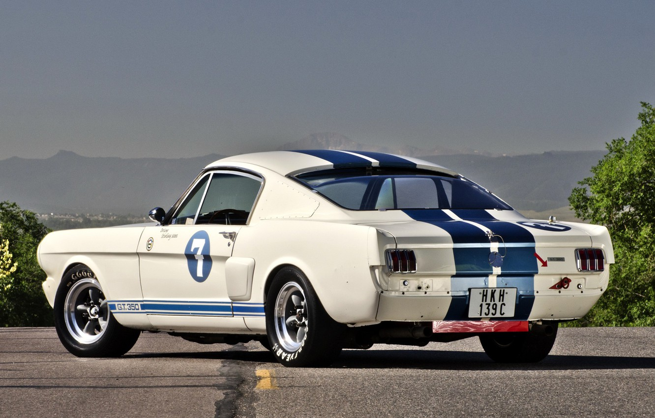 Photo wallpaper Mustang, Ford, Shelby, GT 350