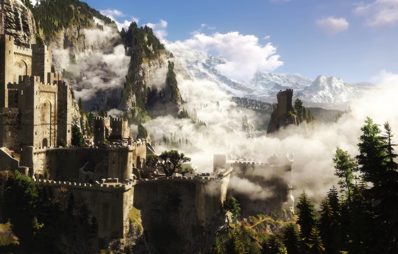 Wallpaper The Witcher 3 Kaer Morhen The Witcher Images For