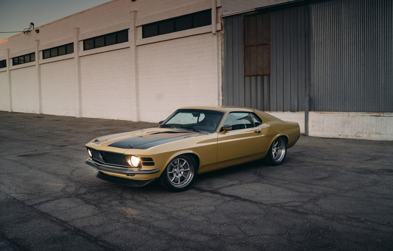 Photo wallpaper Mustang, Ford, Performance, Wheels, HRE, Bronze