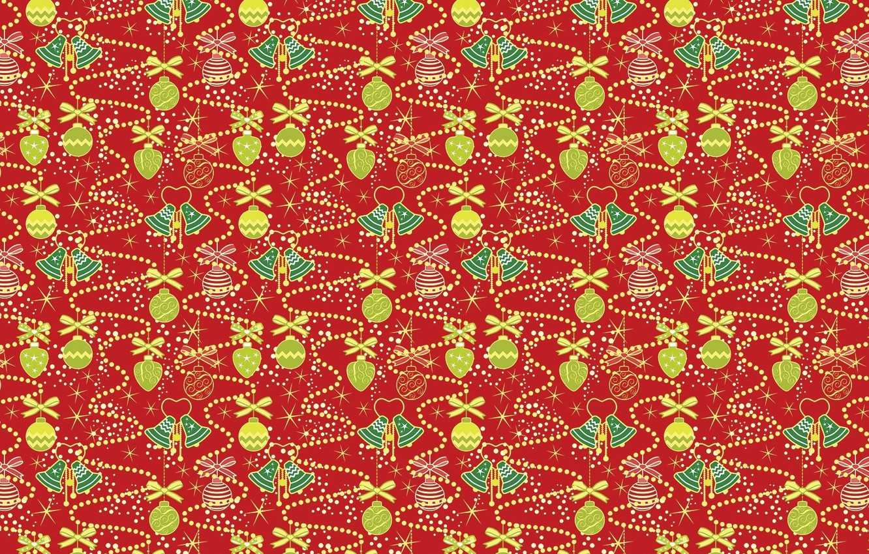Photo wallpaper balls, holiday, texture, art, New year, decoration