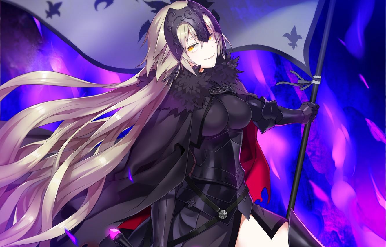 Photo wallpaper anime, art, Fate/Grand Order, fate/grand order, Joan Age