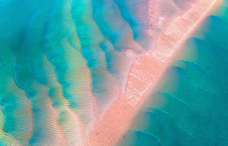 Photo wallpaper sand, sea, wave, water, the ocean, texture