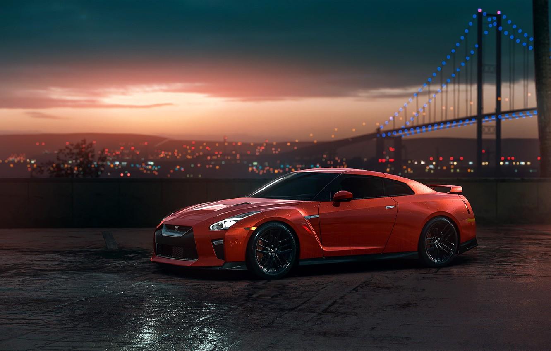 Wallpaper gtr nissan red car sunset r35 view images for desktop section nissan download - Nissan skyline gtr r35 wallpaper ...