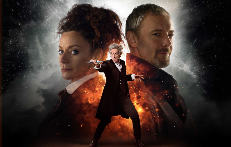 Photo wallpaper space, stars, actors, Doctor Who, Doctor Who, John Simm, Peter Capaldi, The Twelfth Doctor, Twelfth …