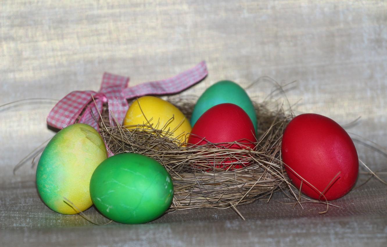 Photo wallpaper holiday, food, eggs, Easter, socket