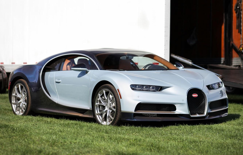 Photo wallpaper car, bugatti, super, chiron
