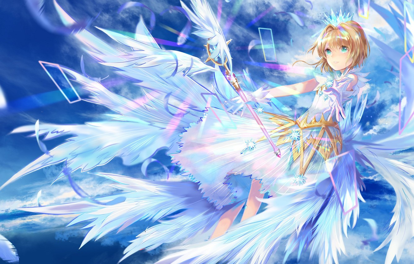 Wallpaper Anime Girl Card Captor Sakura Sakura Collector
