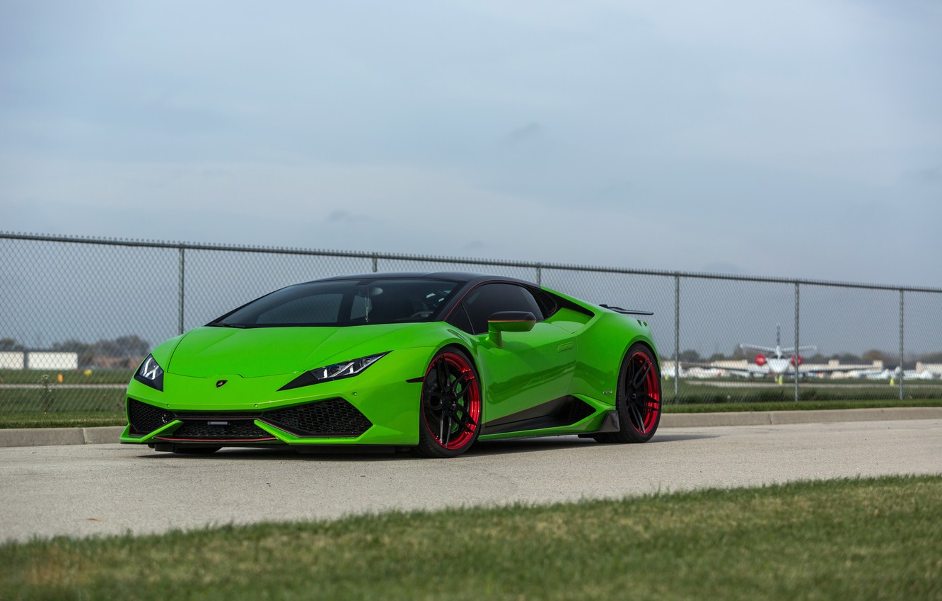 Photo wallpaper lamborghini, auto, art, huracan