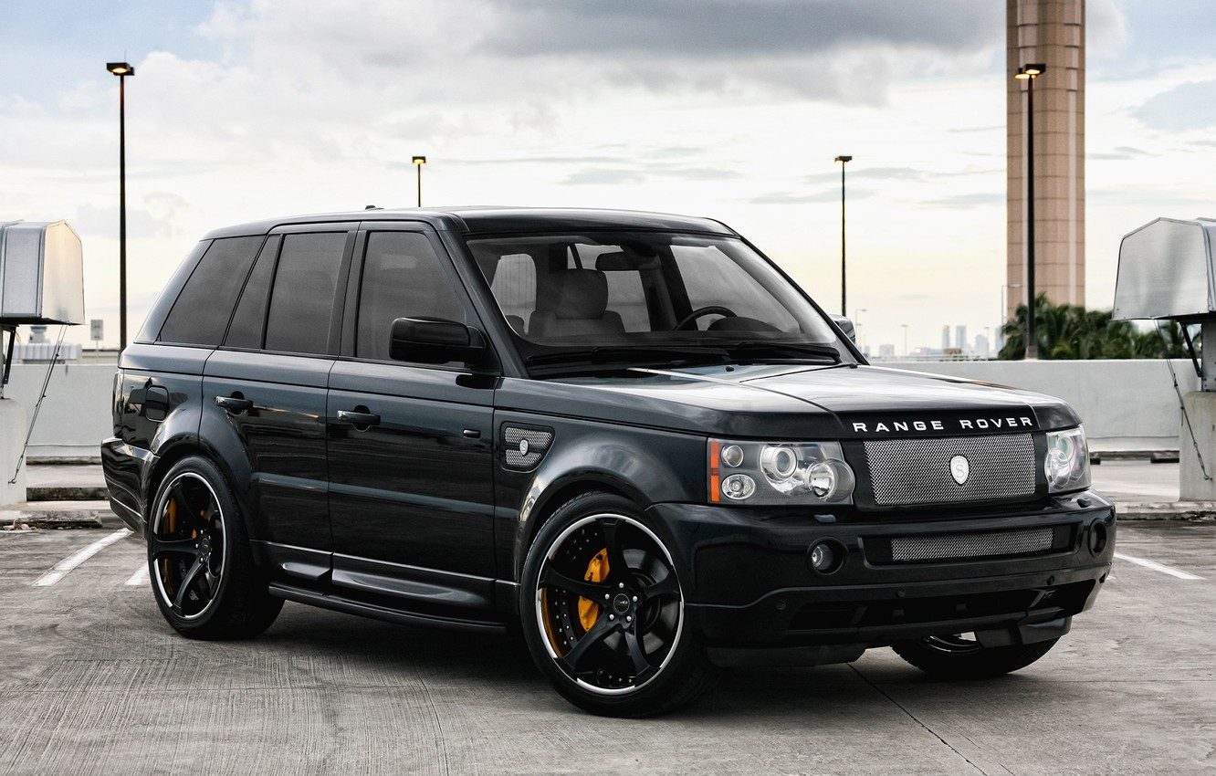 Photo wallpaper wheels, Range Rover, Sport, GFG