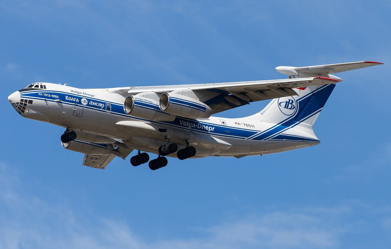Wallpaper The Sky The Plane The Il 76 Images For Desktop