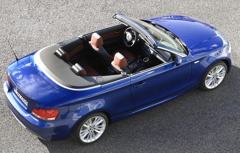 Photo wallpaper BMW, convertible, 135i