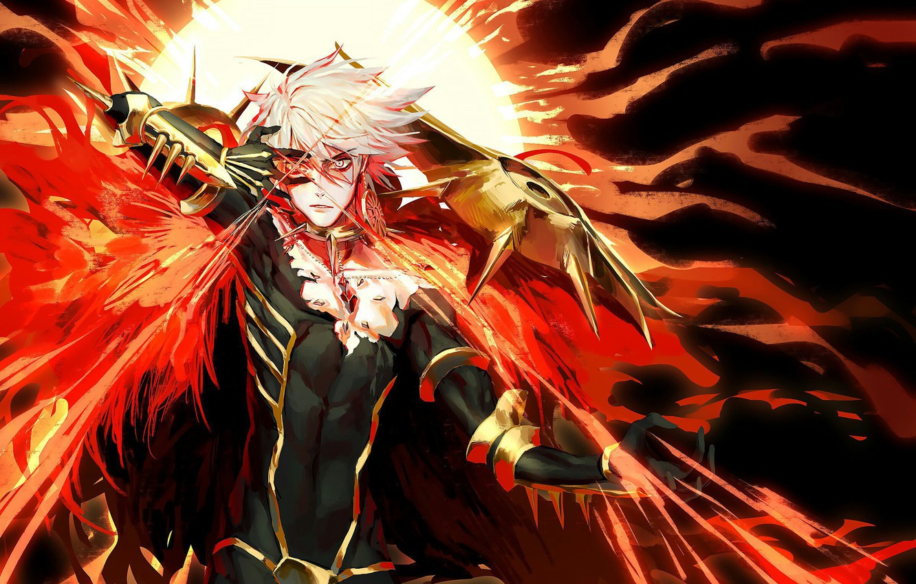 Wallpaper Lancer Anime Lancer Fate Fate Apocrypha