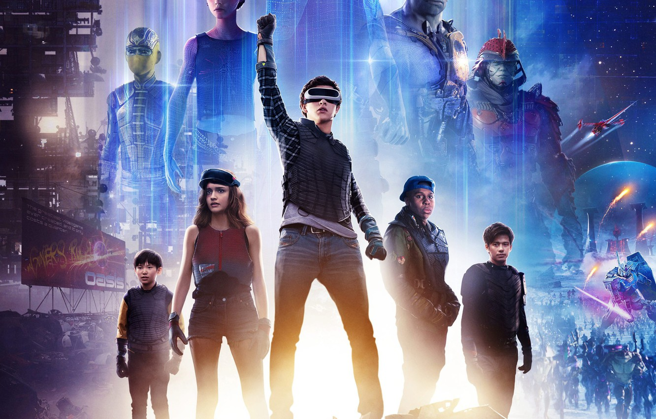 Wallpaper Fiction The Film 2018 Ready Player One The First