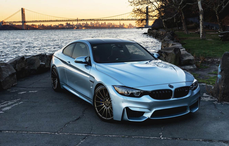 Photo wallpaper BMW, Blue, F82, Sight