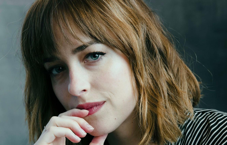 Photo wallpaper portrait, actress, Dakota Johnson