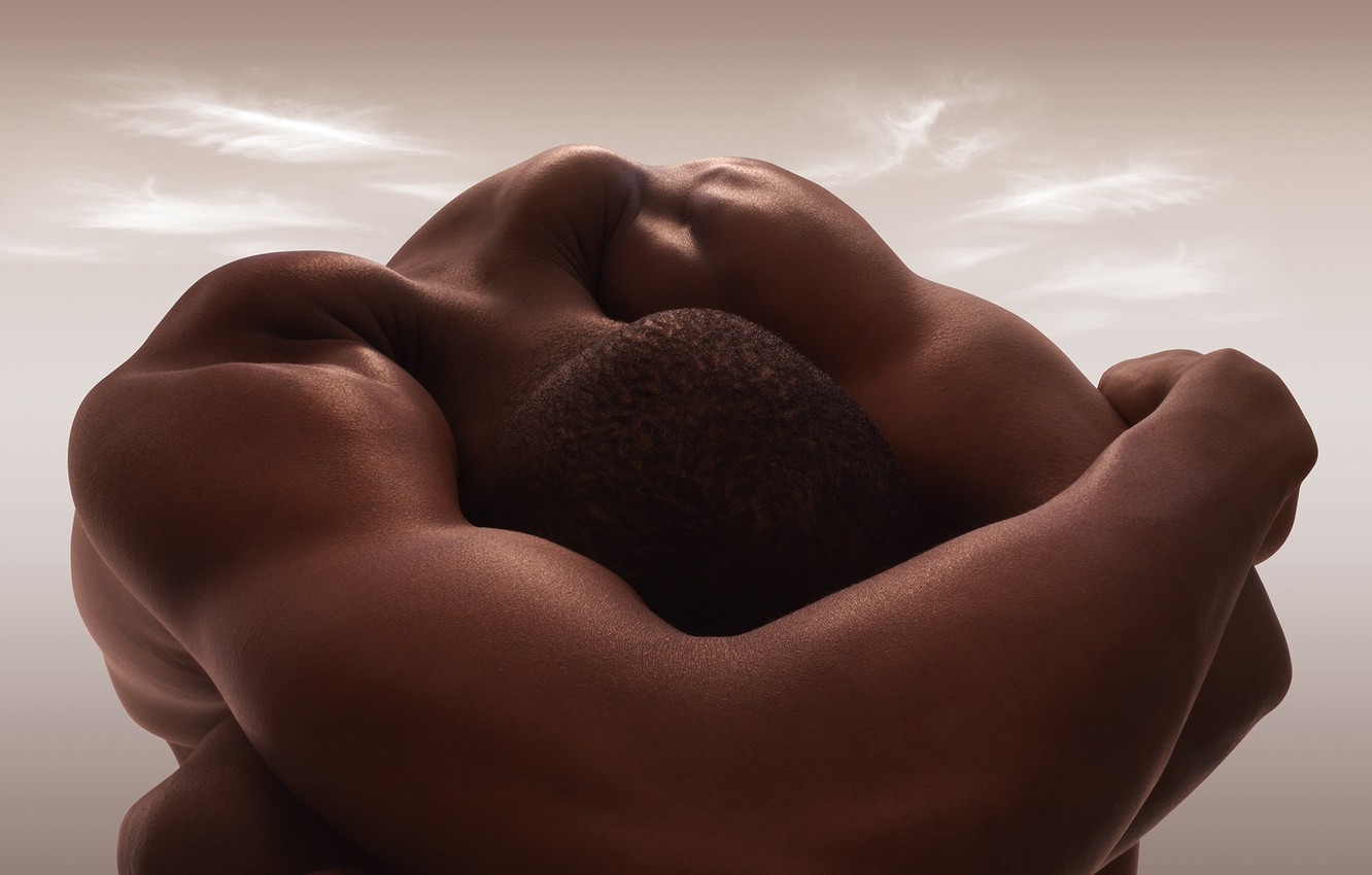 Photo wallpaper naked body, creative, Carl Warner, Carl Warner, the body as a journey, bodyscapes, the Nude, …
