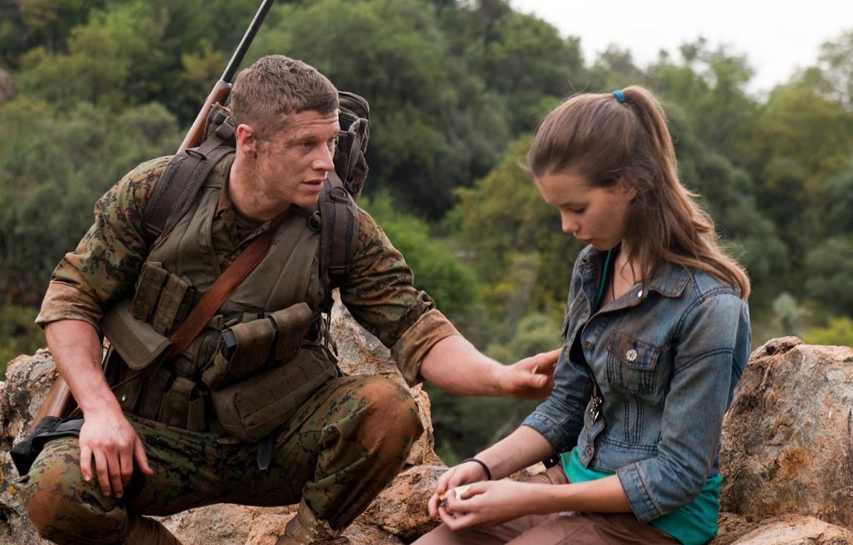 Photo wallpaper cinema, girl, gun, soldier, weapon, man, movie, assassin, film, Sniper, vegetation, Sgt Brandon Beckett, Chad …